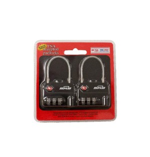 SKB TSA Combination Cable Padlocks