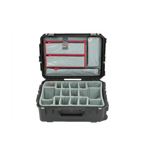 SKB iSeries 2215-8 Case w/Think Tank Designed Dividers & Lid Organizer