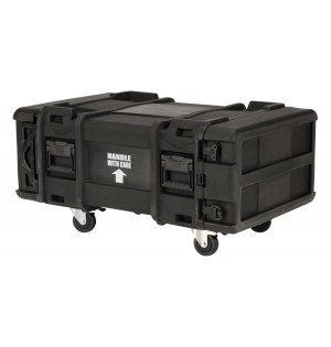 "SKB 28"" Deep 4U Roto Shock Rack"