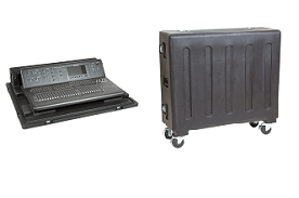 SKB roto molded mixer cases